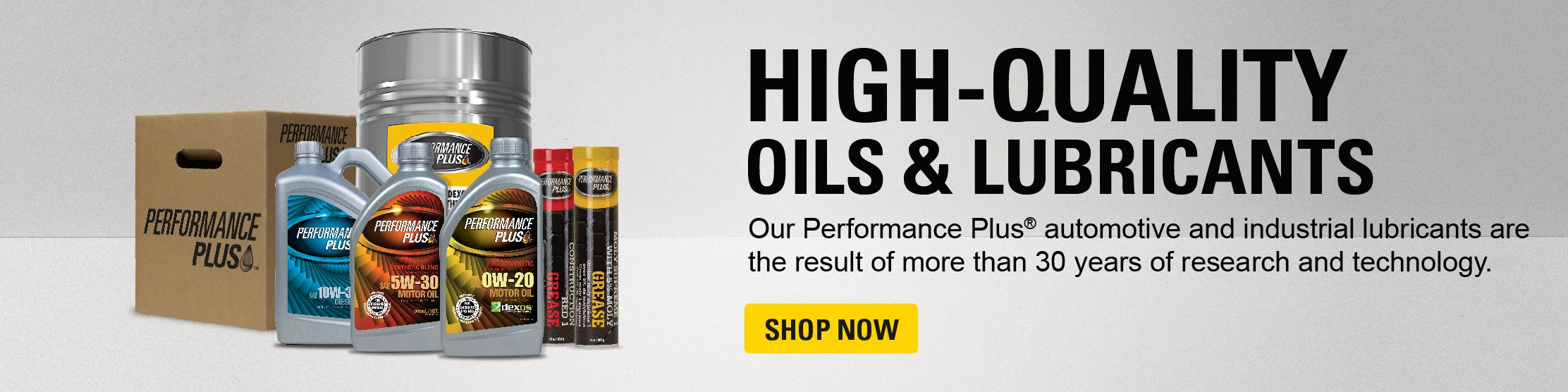 High Quality Oils & Lubricants