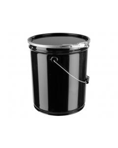 5 Gallon Steel Pail ~ Open Head, New, UN-Rated (1 Each)
