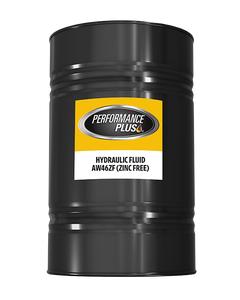 Performance Plus® AW 46 Zinc Free  ~ Hydraulic Fluid (1 Single, 55 Gallon Drum)