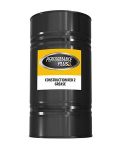 Performance Plus® Construction Red  ~ NLGI 2 Grease (1 Single, 120 lbs. Keg)