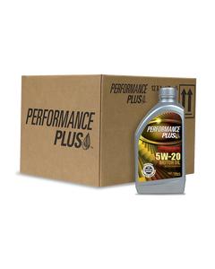 Performance Plus® 5W-20 Full Synthetic ~ SN Plus/GF-5 (Case of 12, 1 Qt. Bottles)