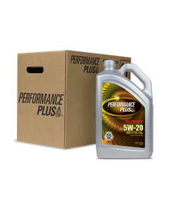 Performance Plus® 5W-20 Full Synthetic ~ SN Plus/GF-5 (Case of 4, 5 Qt. Bottles)