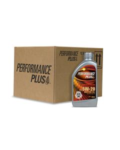 Performance Plus® 5W-20 Synthetic Blend ~ SP/GF-6 (Case of 12, 1 Qt. Bottles)