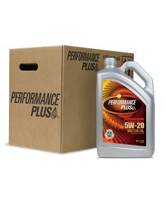 Performance Plus® 5W-20 Synthetic Blend ~ SN Plus/GF-5 (Case of 4, 5 Qt. Bottles)