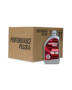 Performance Plus® 5W-30 Synthetic Blend ~ High Mileage SN Plus/GF-5 (Case of 12, 1-Quart Bottles)®