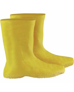 Hazmat Boot Covers ~ Yellow, Large (50 Pairs)