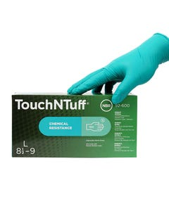 Disposable Nitrile Gloves ~ Large (Box of 100 Gloves)