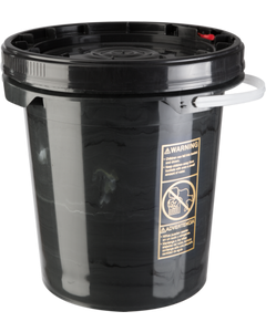 5 Gallon Poly Pail ~ Open Head, New, UN-Rated (1 Each)