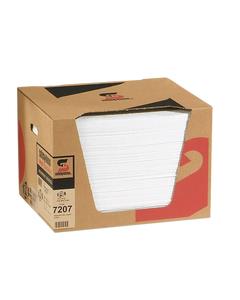 PIG® Oil-Only Absorbent Mat ~ Lightweight (1 Box, 200 Mats)