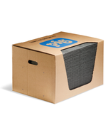 PIG® Universal Absorbent Mat Pad in Dispenser Box ~ Lightweight (1 Box, 200 Mats)