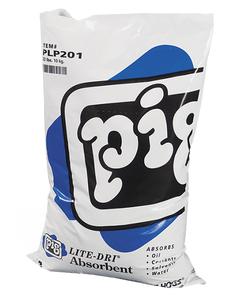 PIG® Lite-Dri® Loose Absorbent ~ Silica-free Loose Absorbent (1 Bag, 22 Pounds)