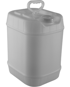 5 Gallon Poly Carboy ~ Tight Head, New, UN-Rated (1 Each)